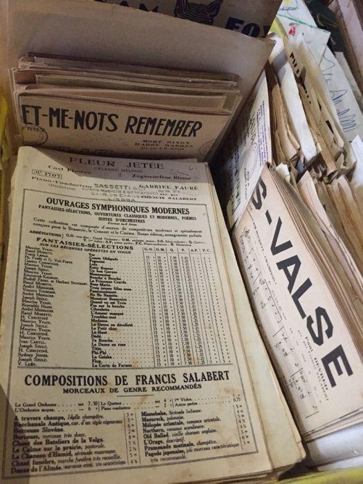 Grande coleção Partituras Antigas Sé E São Lourenço - imagem 5