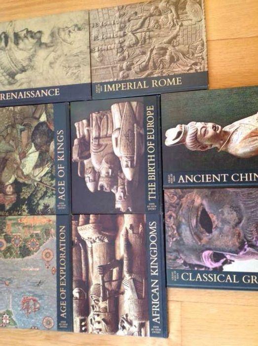 Great ages of man,coleção antiga 10 livros,sexta edição 1975/inglês