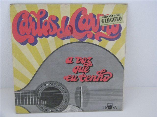 Vinil 2 singles Carlos do Carmo - A voz que tenho, Mais fados por...