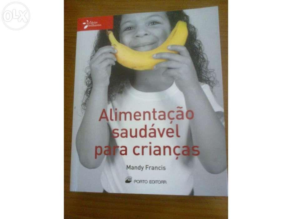 Livro - alimentação saudável para crianças