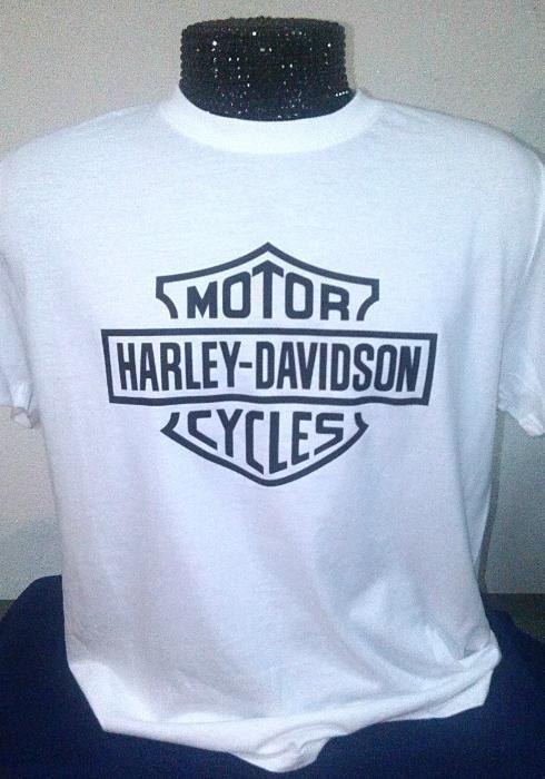 T-Shirt - Tema harley davidson