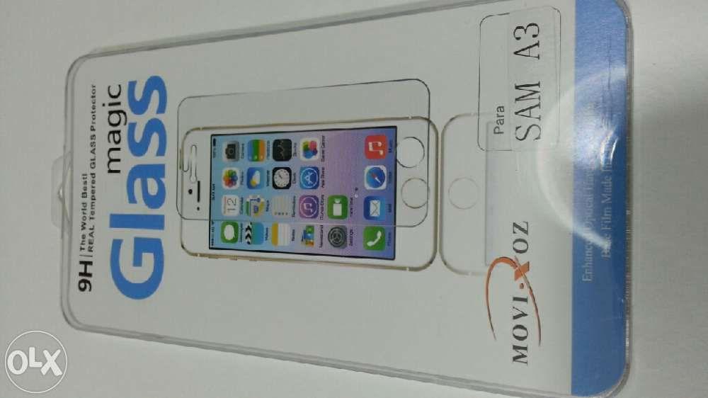Película de vidro temperado iPhone Huawei Samsung