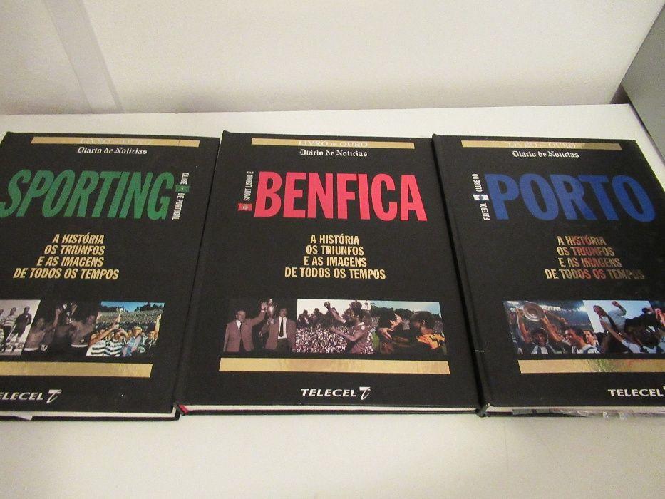 História e triunfos do Sporting, Benfica e Porto