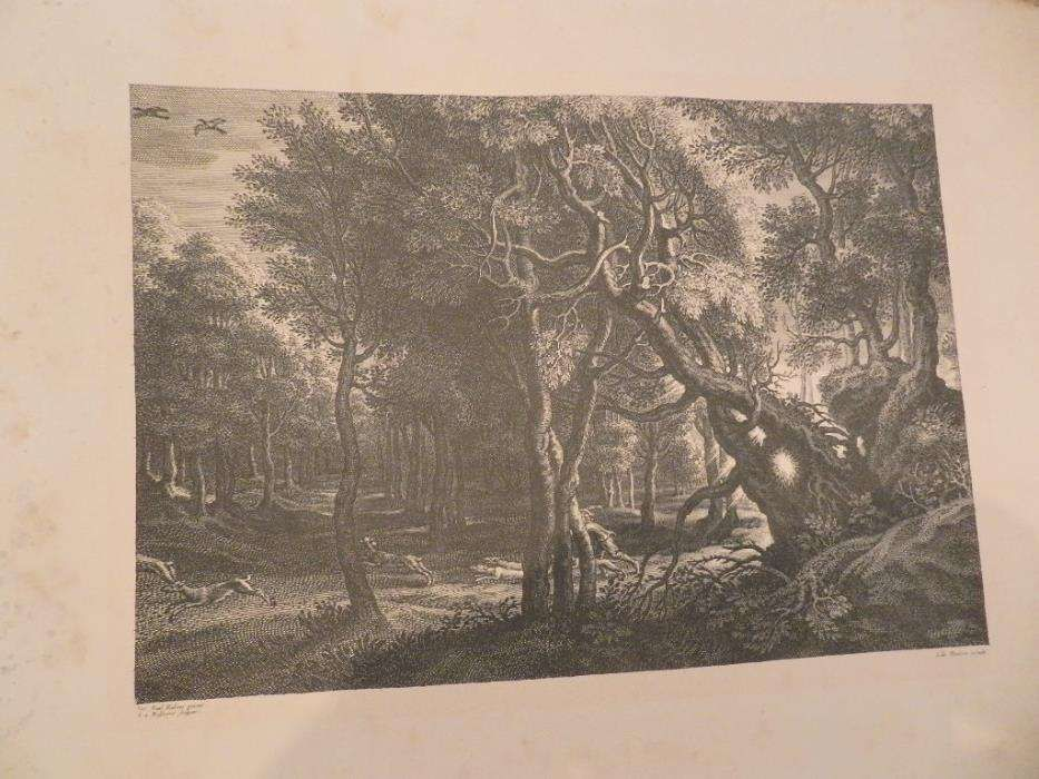Sir Peter Paul Rubens & Original 17th. Cent. Engraving