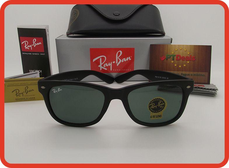STOCK - Oculos de Sol RayBan WayFarer RB2140 - Pretos Foscos 8a815f8da3