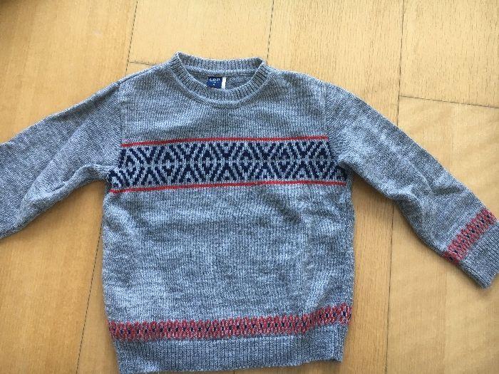 Camisola lã girândola 4 anos