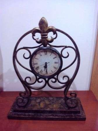 Relógio de Secretária em latão