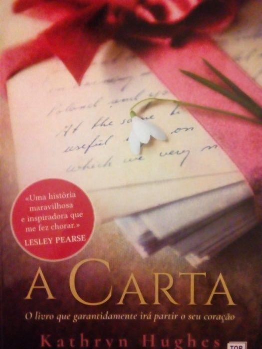 """Vendo livro """"A Carta"""" de Kathryn Hughes"""
