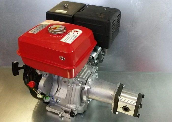 Bomba Hidráulica + Motor gasolina 6,5 CV