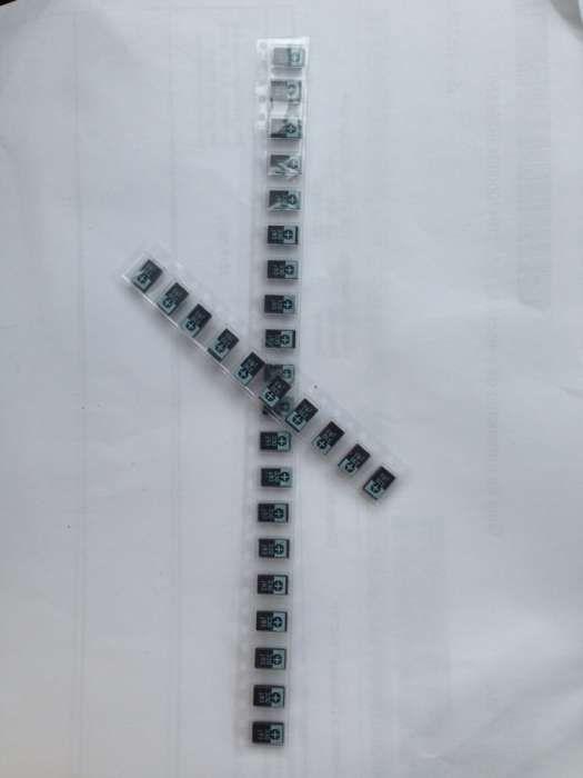 Condensadores de tantalo / tantalum 330uf 2,5v reparação nec tokin