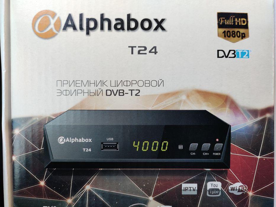 Т2 приставка Alphabox t24