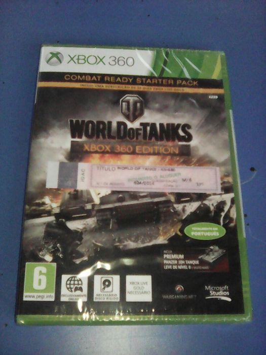 Jogo World of Tanks Xbox 360 novo