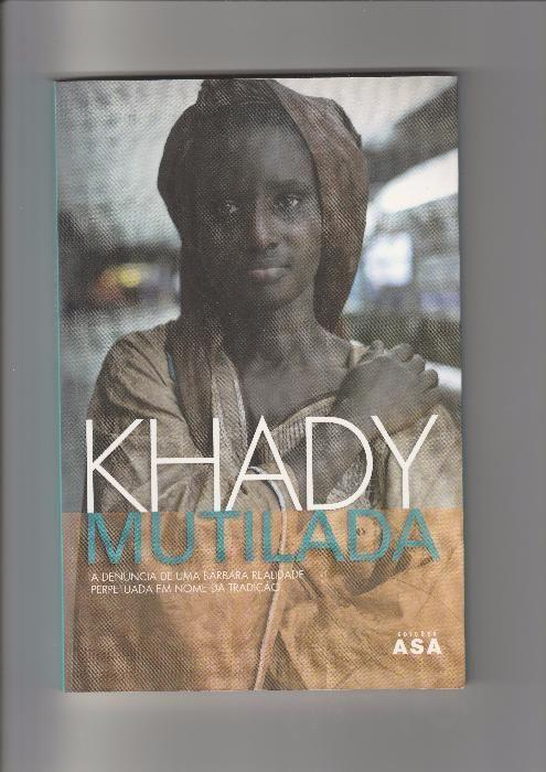 "Livro ""Khady Mutilada"", de Khady"