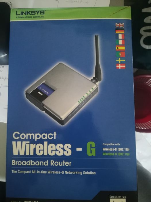 Router LINKSYS Wireless