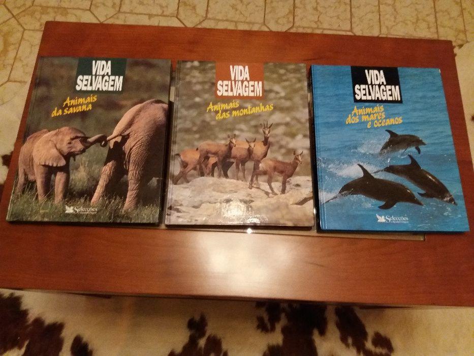 """Vida Selvagem"" - 3 Volumes -Seleções"