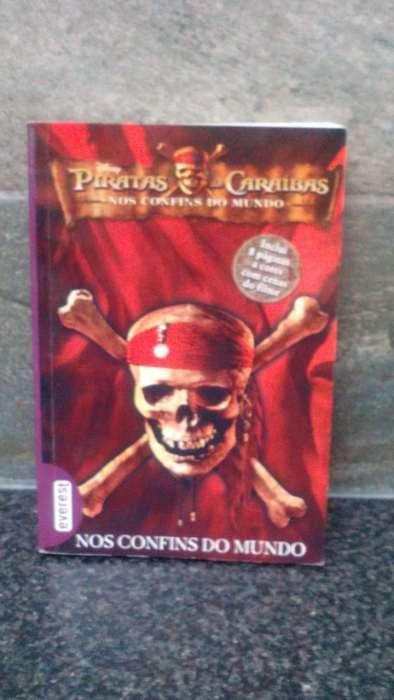 Livro Pirata das Caraíbas 'Nos Confins do Mundo'