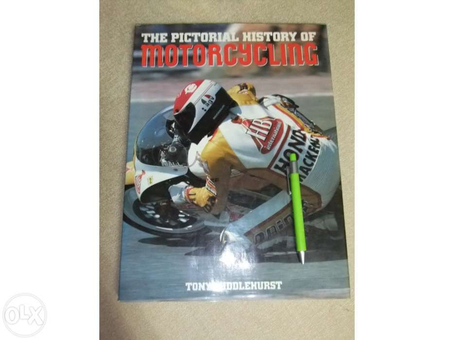 Livro The Pictorial History of Motorcycling