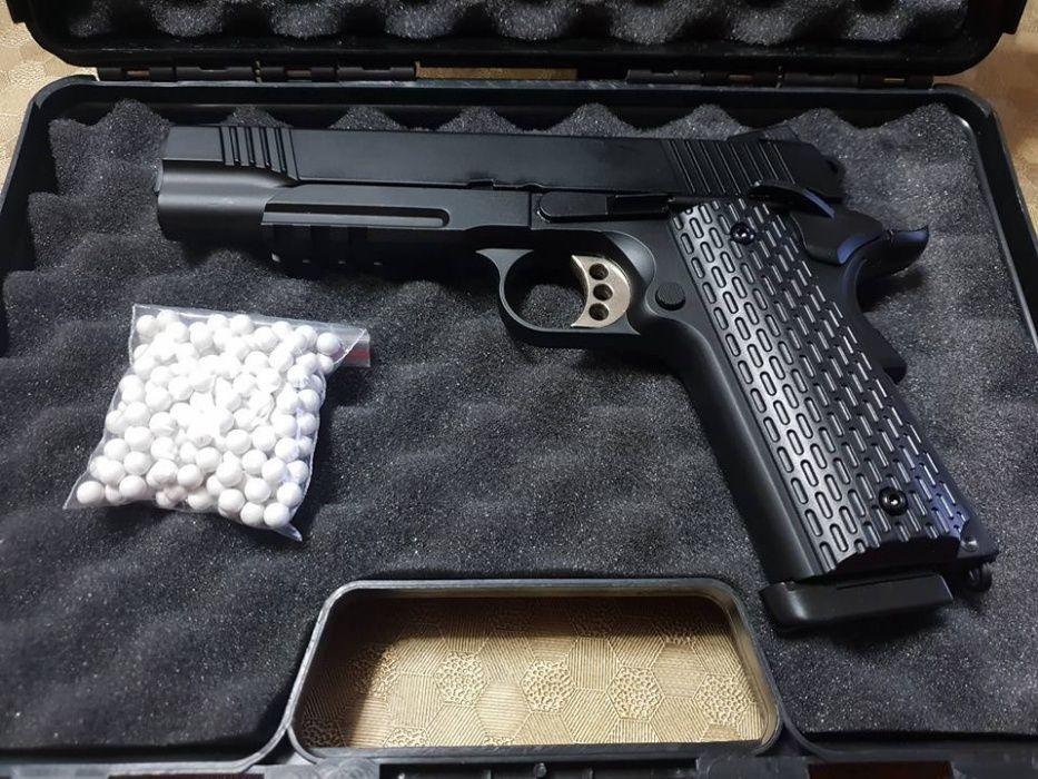Arma de airsoft, FULL METAl com BLOW BACK, Novo modelo