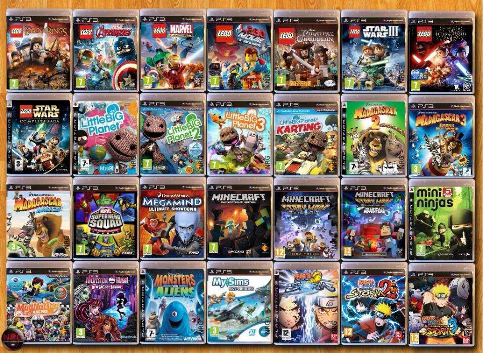 [PS3] 200 Jogos INFANTIS < 12 Anos (Vendo à Unidade - Ver Preços) Penha De França - imagem 4