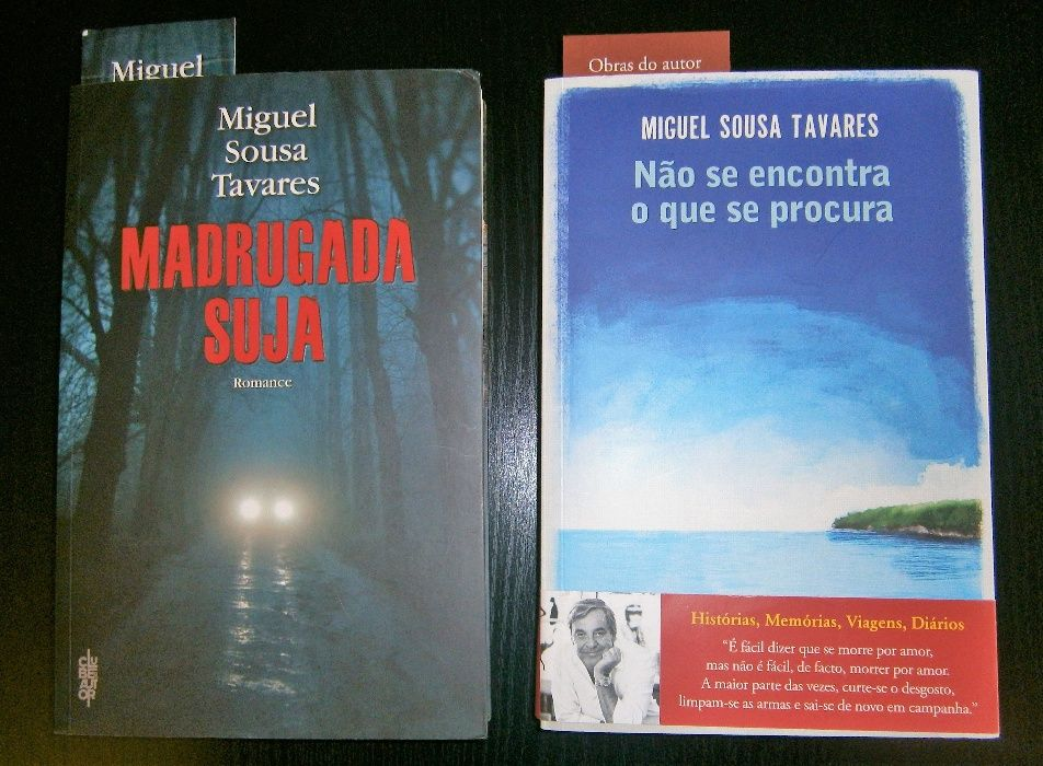 Miguel Sousa Tavares - 2 Livros!
