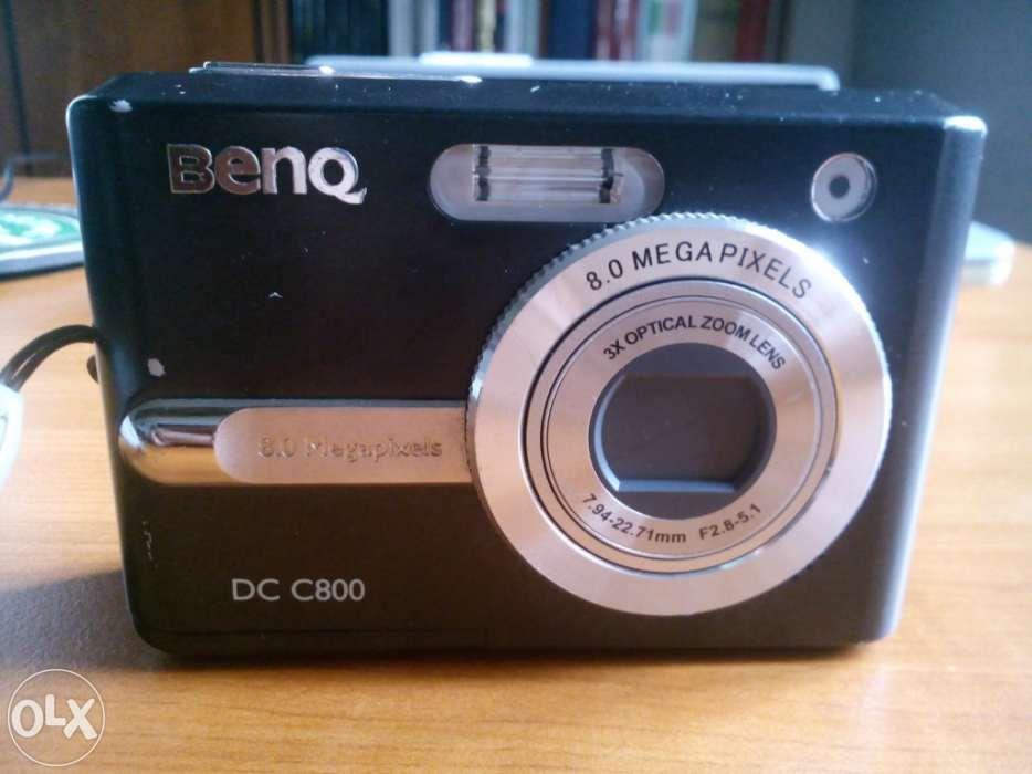 Maquina fotografica Benq DC C800 com avaria na lente