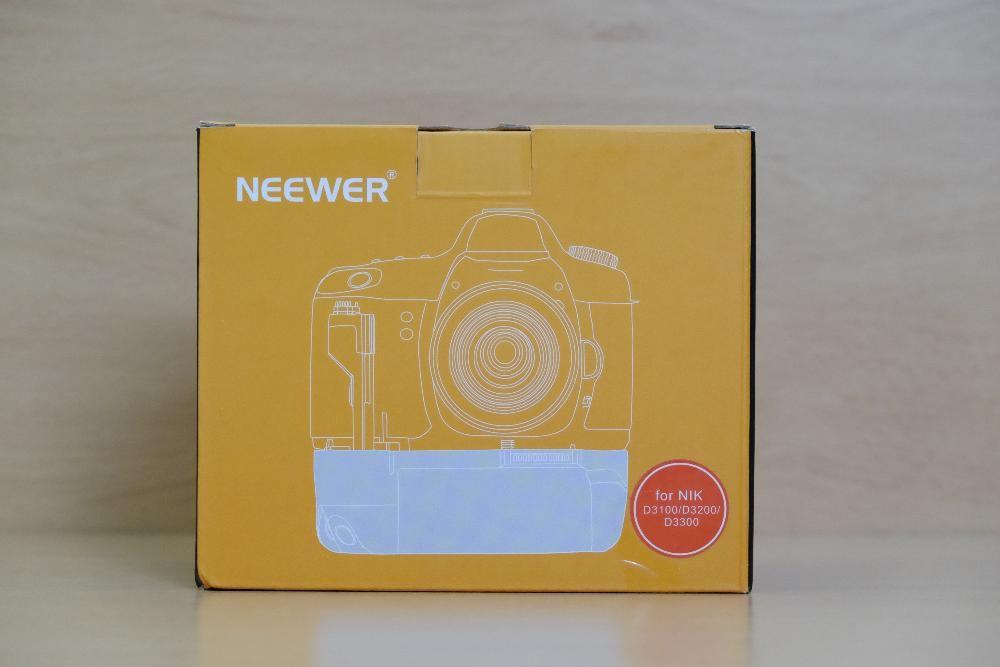 Punho / Grip Nikon D3100 D3200 D3300 e BATERIAS EN-EL14