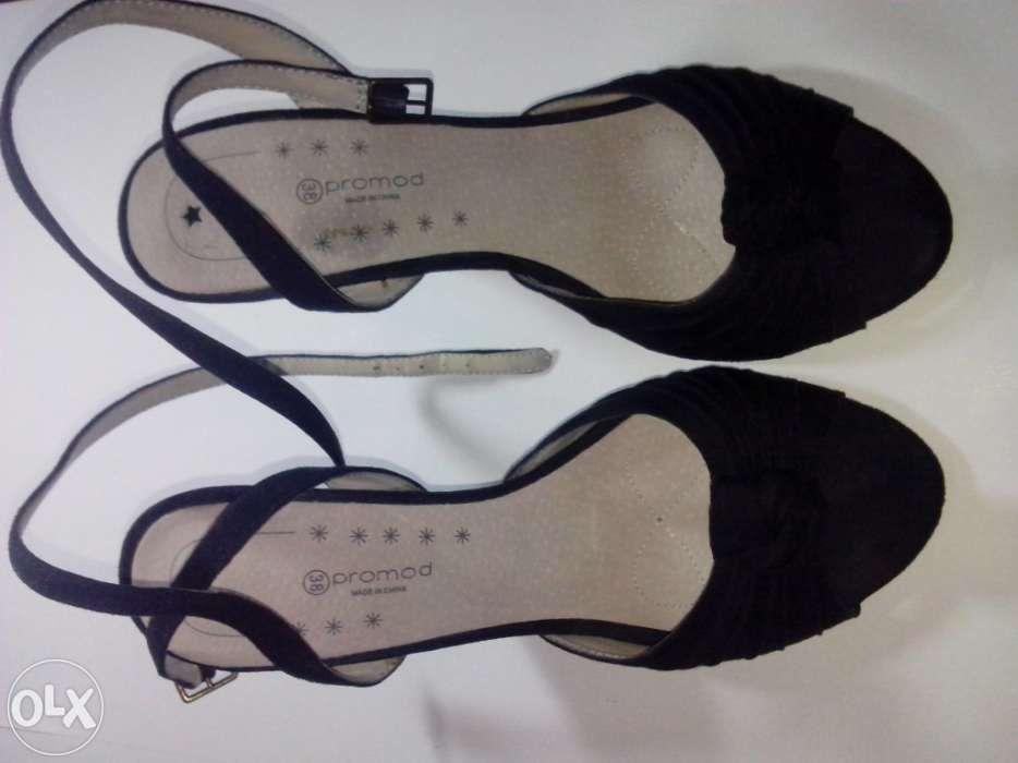 Sandalias negras Promod No37