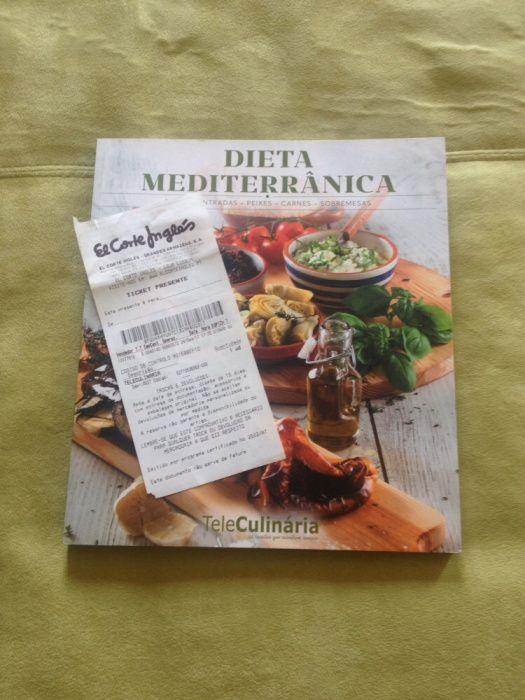 Livro cozinha Mediterrânea