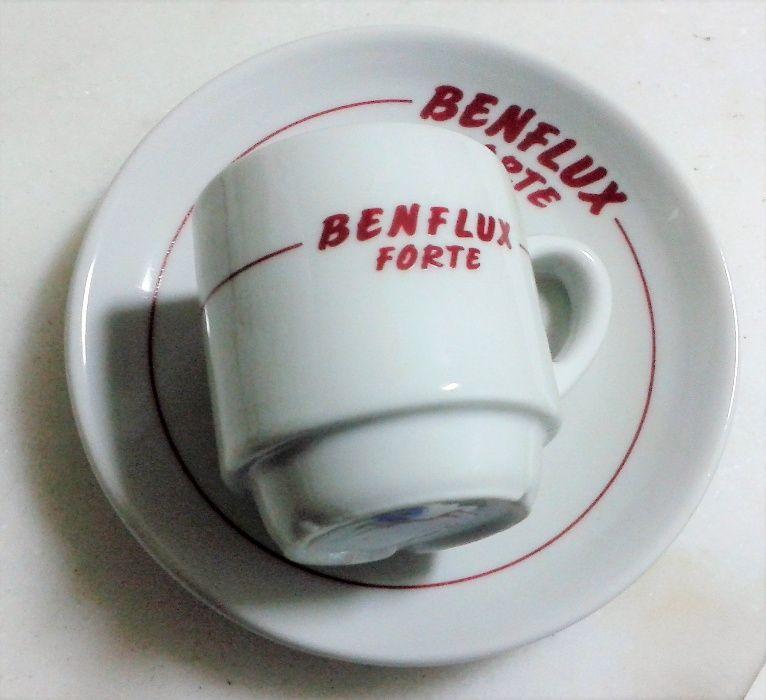 Chávenas de café publicidade Benflux - colecionadores