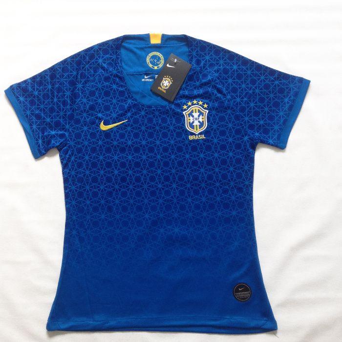 Camisa do Brasil Home Feminina Copa do Mundo 2019