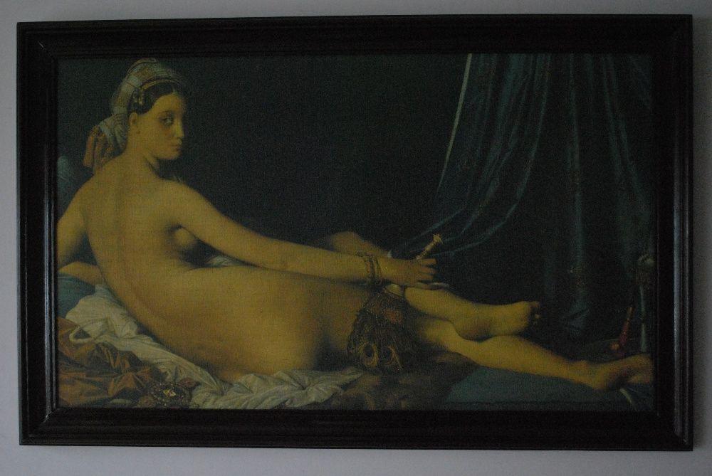 A Grande Odalisca do Pintor Francês Dominique Ingres (Reprodução)