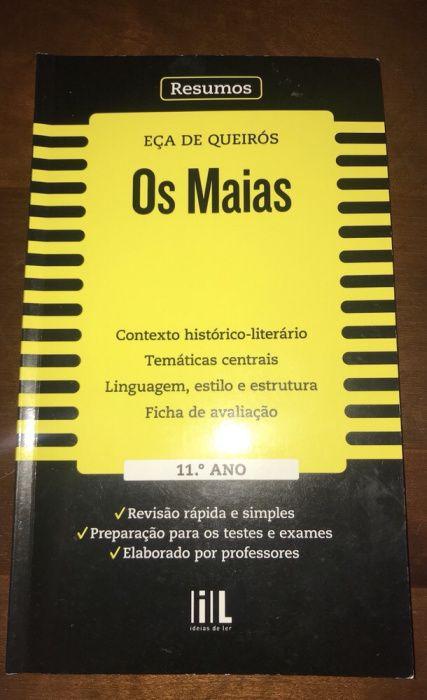 Livro dos Os Maias resumo
