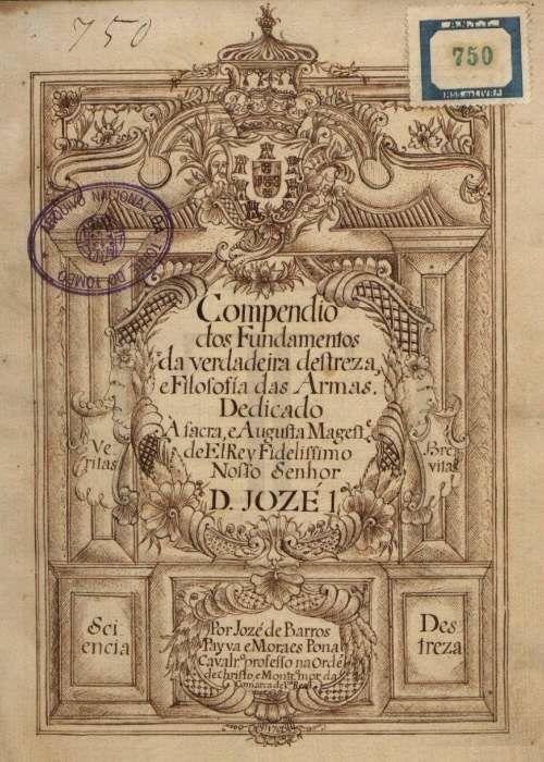 Tratado de esgrima por José de Barros Paiva