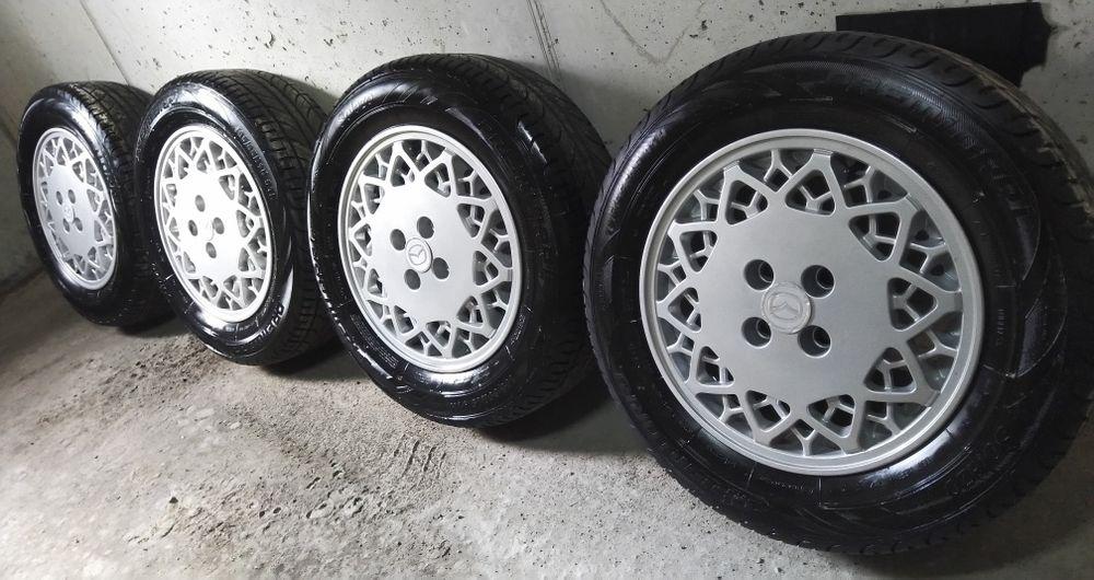 Легкосплавні диски Elysee R15 4Х100 + нова гума (літо)