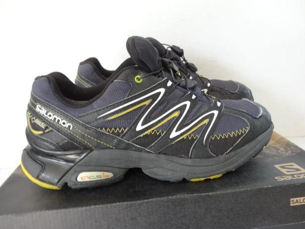 Solidne buty trekkingowe SALOMON skórzane r.42,23 Łomża