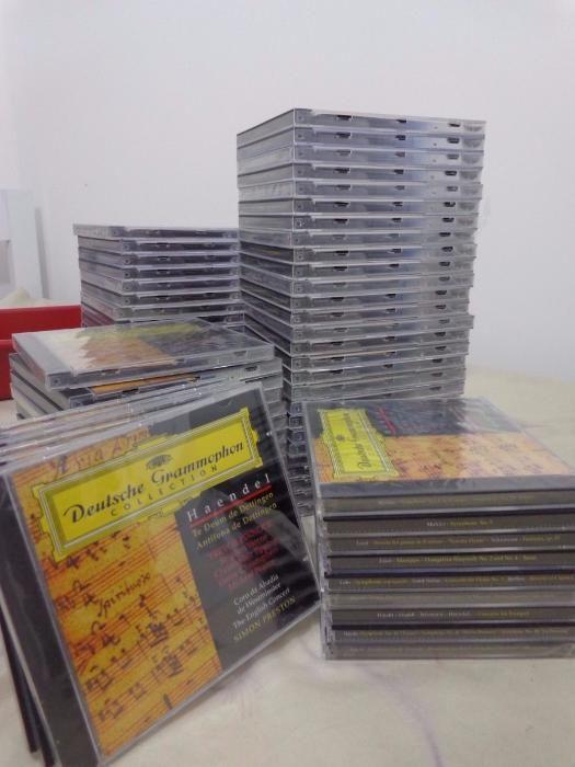 Coleção da História da Música + 101 CDs da «Deutsche Grammophon» Caldas da Rainha - imagem 7
