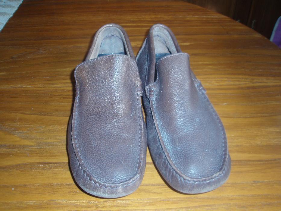 859e339b7 Sapatos de homem nº41 - Porto - Sapatos em pele em castanho de homem nº41  calçados