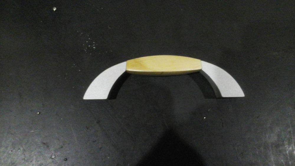 Puxadores madeira/metal Braga - imagem 2