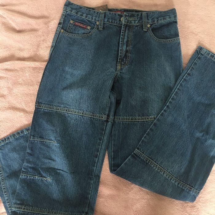 Spodnie jeansowe L W 32 męskie nowe Gliwice Trynek • OLX.pl