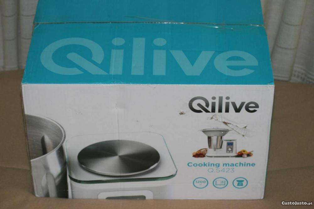 Robot Cozinha Jumbo Qilive Q5423 - Novo com Garantia