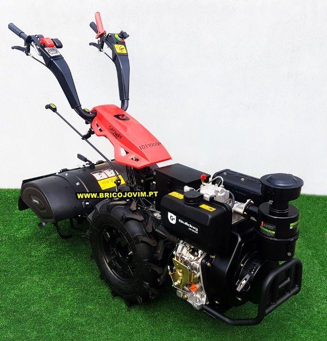 Motocultivadores Novos 10 Cv Diesel - Fresa 80cm - Motor Arranque