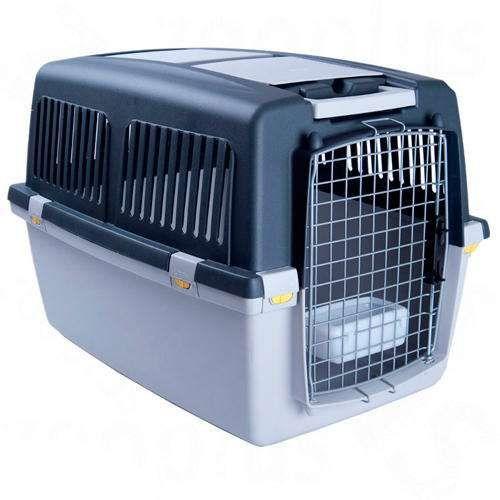 Transportadora Oficial IATA, para cão e gato (avião, barco, carro)