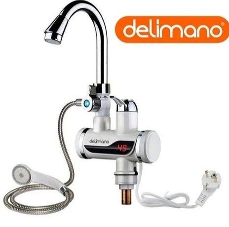 Проточный водонагреватель Delimano кран делимано водонагрівач бойлер