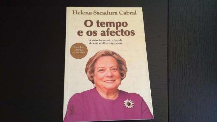O Tempo e os afectos - Helena Sacadura Cabral