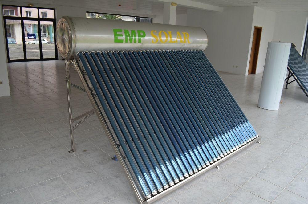 Painel solar termossifão 150 litros novo baixa pressão preço promoção