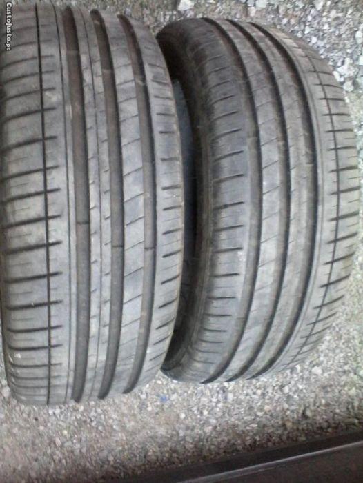 Vendo pneus 225/45R17 Michelin/Continental/Bridgestone