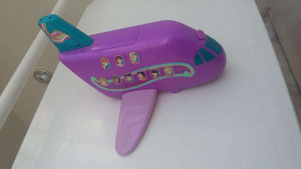 Avião da Polly Pocket