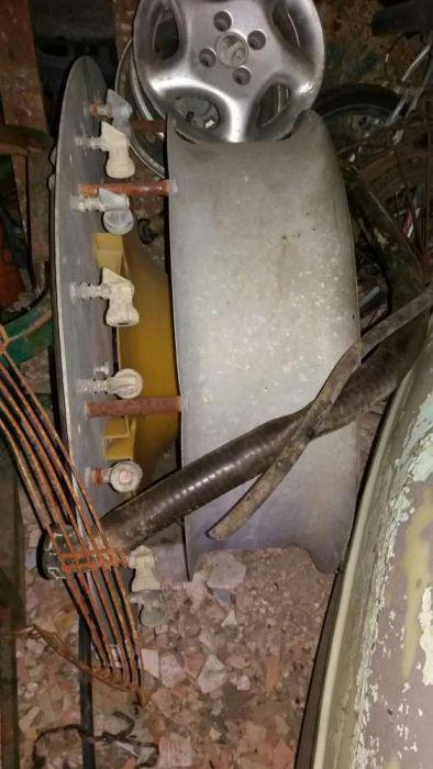 Peças para turbina Rocha ou tomix 720 c defletor