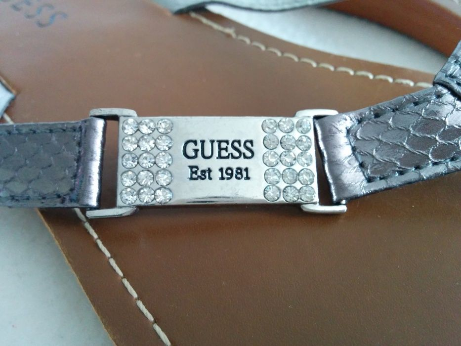 Japonki damskie klapki Guess 38 Sosnowiec • OLX.pl