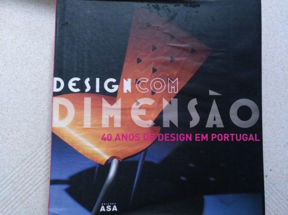 """Livro """"Design Com Dimensão - 40 Anos de Design em Portugal"""""""